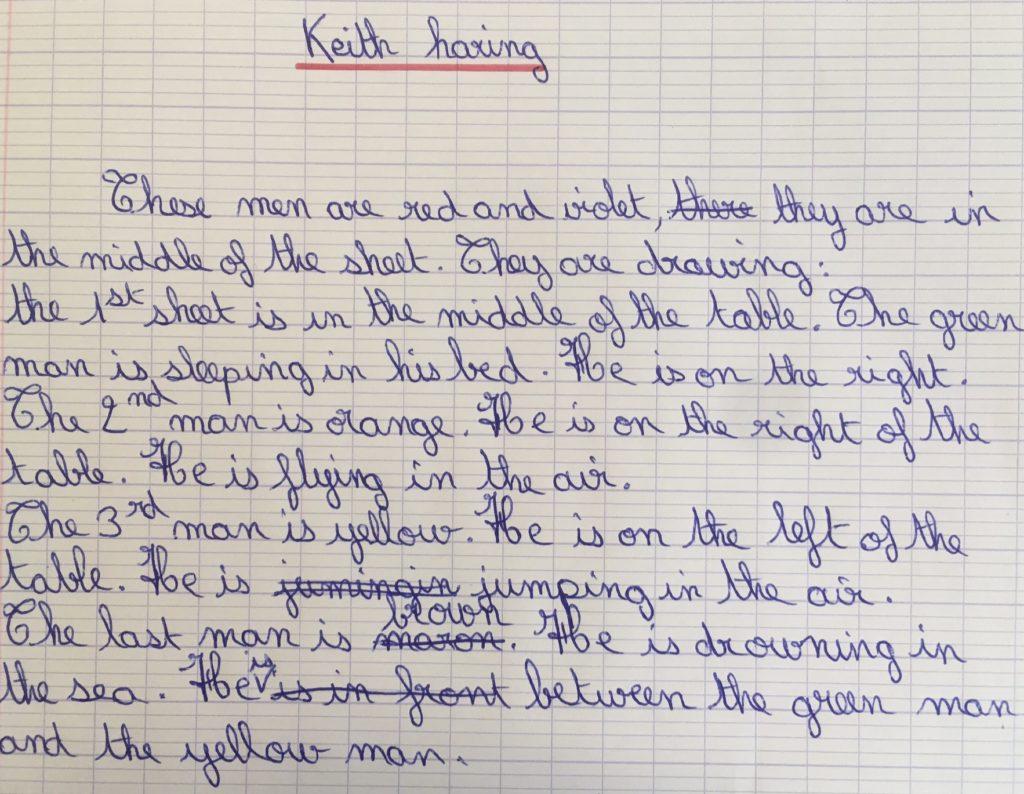 Keith Haring 5V-description Blandine